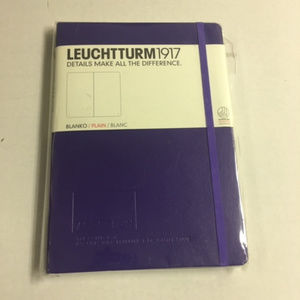 Leuchtturm1917 A5 PLAIN Hardcover Notebook SEALED